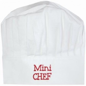 Toque Mini Chef Rouge