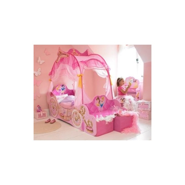 lit carrosse princesses disney 500 un carrosse qui. Black Bedroom Furniture Sets. Home Design Ideas