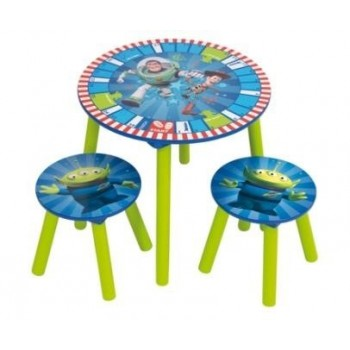 Ensemble Table + 2 tabourets Toys Story