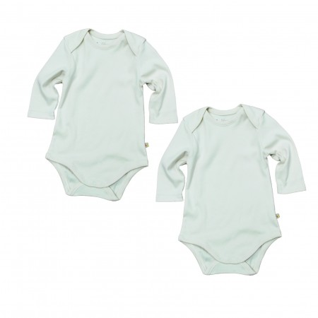 Lot de 2 bodies en Coton bio - FRUGI