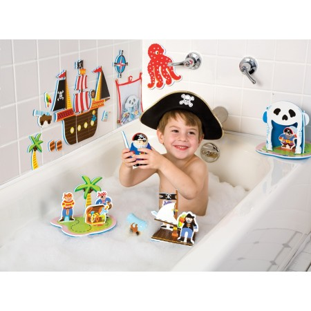 Stickers de bain 3D - Les Pirates
