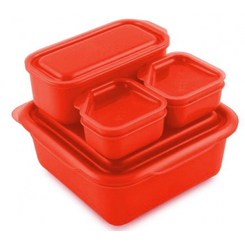 Lunchbox GoodByn Onthego Rouge