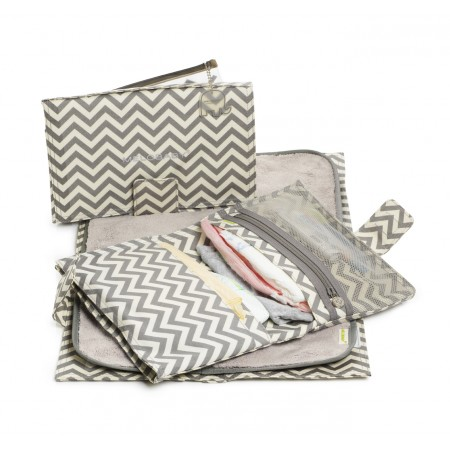 MeloBaby Chevrons Gris